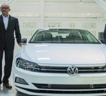 Volkswagen : le premier véhicule «Made in Rwanda» est sorti d'usine