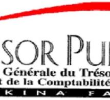 OBLIGATION TRESOR PUBLIC BURKINA FASO : 500 titres échangés pour une valeur totale de 5.000.000 FCFA.