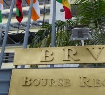 BRVM : 7 transactions sur dossier réalisées, lundi