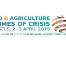 Lancement de l'édition 2019 du Rapport mondial sur les crises alimentaires et événement de haut niveau sur la prévention des crises futures