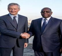 Bruno Le MAIRE au Sénégal pour le lancement de ''Choose Africa''