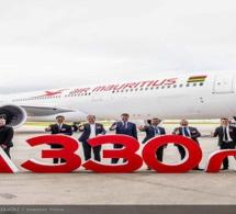 Air Mauritius réceptionne son premier A330neo.