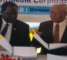 Accord de partage d'exploration et de production entre l'Afrique du sud et le Soudan sud