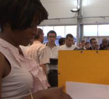 Des élèves du lycée Mariama Bâ bénéficiaires du projet de féminisation et l'internationalisation des métiers du secteur aéronautique