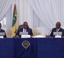 Communiqué du conseil des ministres du Sénégal du mercredi 31 juillet 2019