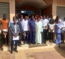 Signature de convention de partenariat en l'Observatoire de la qualité des services financiers et le Programme sénégalais pour l'entrepreneuriat des jeunes