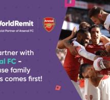 Arsenal et WorldRemit lancent la deuxième édition de Future Stars, un programme d'entraînement exclusif pour les entraîneurs africains avec les entraîneurs d'Arsenal Football Development à Londres.