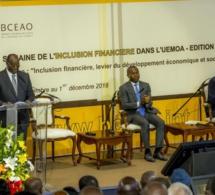 Edition 2019 de la semaine de l'inclusion financière dans l'Union économique et monétaire ouest africaine (Uemoa)