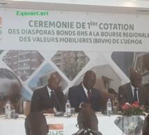 Première cotation des Diasporas bonds BHS à la BRVM.