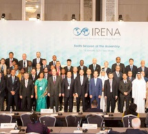 150 pays entament des discussions sur la transformation de l'énergie lors de la 10e Assemblée de l'IRENA