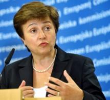 La directrice générale du Fmi, Kristalin Georgieva s'exprime sur l'impact économique de COVID-19 devant le G20