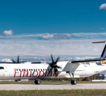 Transport aérien-Afrique : Ethiopian Airlines renforce sa flotte avec l'acquisition de deux autres appareils Dash 8-400 livré par De Havilland