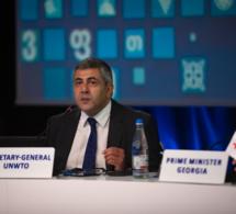 Le conseil exécutif lui renouvelle sa confiance : le secrétaire général Pololikashvili élu à la tête de l'Omt pour quatre années supplémentaires.