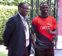 Sadio Mané, figure emblématique de la nouvelle campagne «Powered by Africa» d'Oryx energies