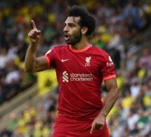 Mohamed Salah, joueur africain le plus utile d'Europe avec 100 millions d'euros pour la saison 2021/22