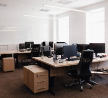 Fermeture de bureaux pour cause de covid19.