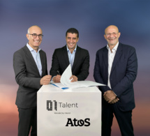 Atos devient le partenaire technologique de 01Talent en Afrique pour l'identification, la formation et l'emploi des talents digitaux de demain