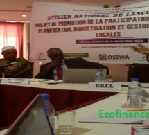 Sénégal : le projet budget participatif lancé pour 3 ans