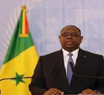 Sénégal : discours de Macky Sall à la veille de la fête de l'indépendance